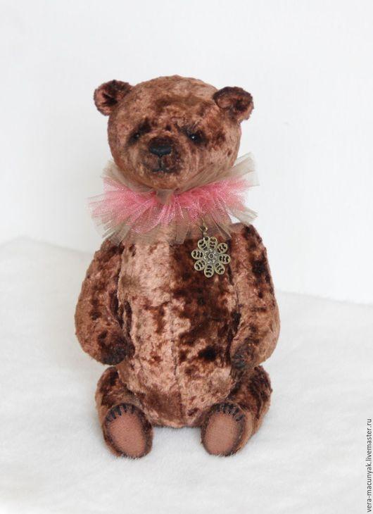 Мишки Тедди ручной работы. Ярмарка Мастеров - ручная работа. Купить Корица. Handmade. Коричневый, Плюшевый мишка, талисман