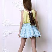 """Одежда ручной работы. Ярмарка Мастеров - ручная работа юбка """"Фея"""" silk. Handmade."""