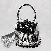 Одежда для кукол ручной работы. Ярмарка Мастеров - ручная работа Сумка кисет для куклы. Handmade.
