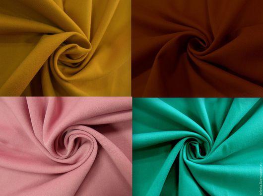 """Шитье ручной работы. Ярмарка Мастеров - ручная работа. Купить Костюмная ткань """"Сочные краски"""" 8 цветов. Handmade."""