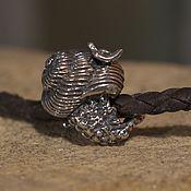 handmade. Livemaster - original item Snail charm. Handmade.
