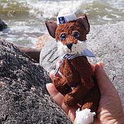 Куклы и игрушки ручной работы. Ярмарка Мастеров - ручная работа Морской лис. Handmade.