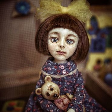 Dolls & toys handmade. Livemaster - original item Doll: Collectible handmade doll Katya. Handmade.