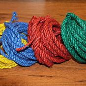 Материалы для творчества handmade. Livemaster - original item Rope jute color 5-6 mm. Handmade.