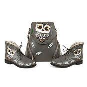 Обувь ручной работы handmade. Livemaster - original item Polubotinki