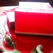 """Косметика ручной работы. Ярмарка Мастеров - ручная работа Мыло """"Сочный арбуз"""". Handmade."""