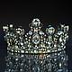 """Диадемы, обручи ручной работы. Ярмарка Мастеров - ручная работа. Купить Свадебная корона """"Crystal Lights"""" и серьги.. Handmade. Корона"""
