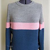 """Одежда ручной работы. Ярмарка Мастеров - ручная работа Вязаный женский свитер """"Уютная зима"""". Handmade."""