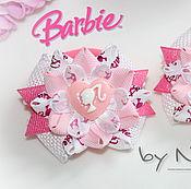"""Работы для детей, ручной работы. Ярмарка Мастеров - ручная работа бантики """"Barbie"""". Handmade."""