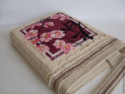 Женские сумки ручной работы. Ярмарка Мастеров - ручная работа. Купить Сумочка бохо с вышивкой. Handmade. Бежевый, лён