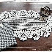 Для дома и интерьера ручной работы. Ярмарка Мастеров - ручная работа Комплект салфеток. Handmade.