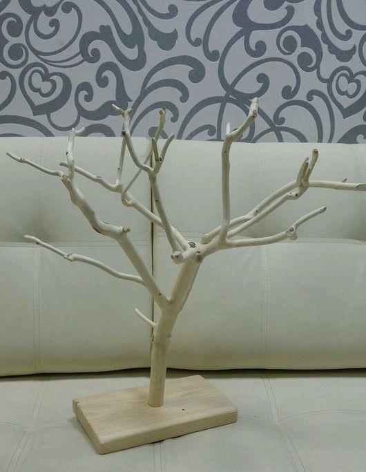 Статуэтки ручной работы. Ярмарка Мастеров - ручная работа. Купить Дерево интерьерное. Handmade. Дерево, подставка для украшений, Дерево счастья