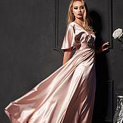 Одежда ручной работы. Ярмарка Мастеров - ручная работа розовое платье в стиле ампир. Handmade.