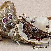 Украшения handmade. Livemaster - original item The web. Jewelry set. Handmade.