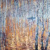 Картины и панно handmade. Livemaster - original item Oil painting In crystal silence. Painting. Landscape.. Handmade.