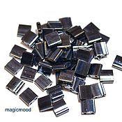 Материалы для творчества handmade. Livemaster - original item 5 grams Tila 464 gun metal Japanese seed beads Miyuki Miyuki metallic. Handmade.