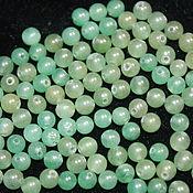 Материалы для творчества handmade. Livemaster - original item Aventurine, smooth bead ball, 3,3-4 mm (natural stone). Handmade.