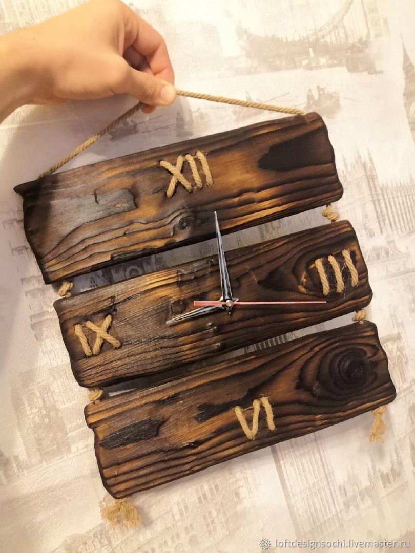 Часы из дерева. Ручная работа, Часы классические, Сочи,  Фото №1