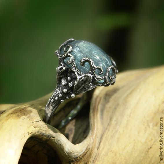 кольца с аквамарином  цена