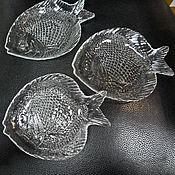 """Винтаж ручной работы. Ярмарка Мастеров - ручная работа Блюдо  для сервировки """"Рыбка"""". Handmade."""