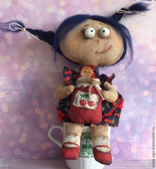 Коллекционные куклы ручной работы. Ярмарка Мастеров - ручная работа. Купить Авторская интерьерная кукла Варенька. Handmade. Авторская кукла
