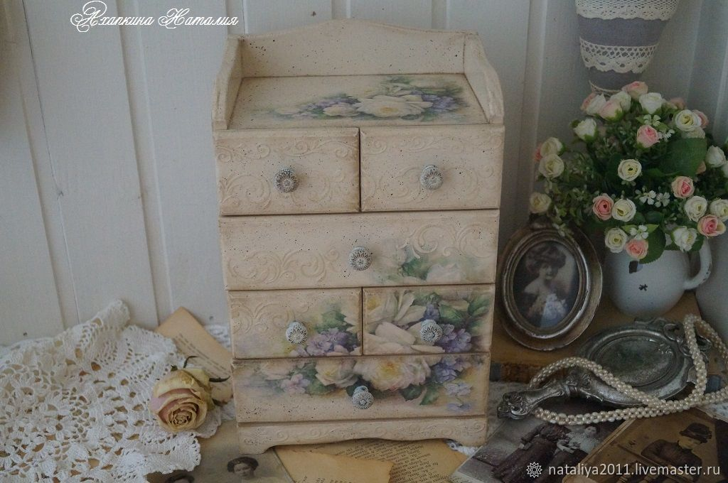 'A graceful century-2'-a Mini-chest of drawers, Mini Dressers, Moscow,  Фото №1