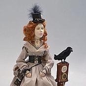 """Куклы и игрушки ручной работы. Ярмарка Мастеров - ручная работа """"Путешествие во времени. Ожидание"""". Художественная кукла. Handmade."""