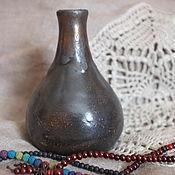 Для дома и интерьера ручной работы. Ярмарка Мастеров - ручная работа Небольшая пузатая ваза. Handmade.