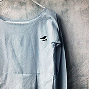 """Одежда ручной работы. Ярмарка Мастеров - ручная работа платье """"птица"""". Handmade."""