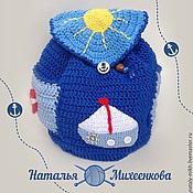 Работы для детей, ручной работы. Ярмарка Мастеров - ручная работа Детский рюкзак для мальчика. Handmade.