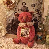 Куклы и игрушки ручной работы. Ярмарка Мастеров - ручная работа Клубничный медвежонок. Handmade.