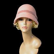 """Аксессуары handmade. Livemaster - original item Клош """"Розовый бутон"""". Handmade."""