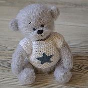 Куклы и игрушки ручной работы. Ярмарка Мастеров - ручная работа Жемчужный мишка. Handmade.