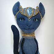 Куклы и игрушки ручной работы. Ярмарка Мастеров - ручная работа Игрушка Ночная кошка. Handmade.