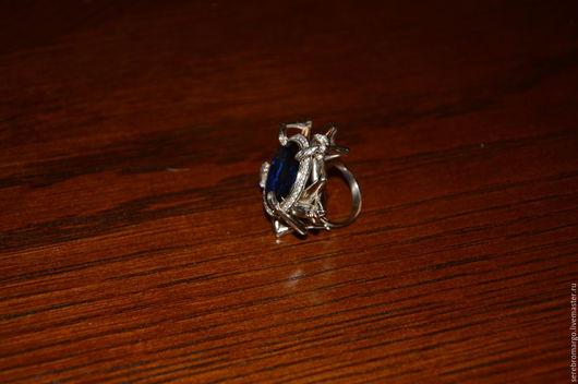 Кольца ручной работы. Ярмарка Мастеров - ручная работа. Купить кольцо жадность. Handmade. Серебряный, крупное кольцо, циркон натуральный