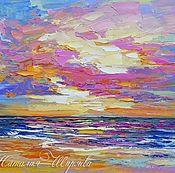 Картины и панно handmade. Livemaster - original item Oil painting of the sea