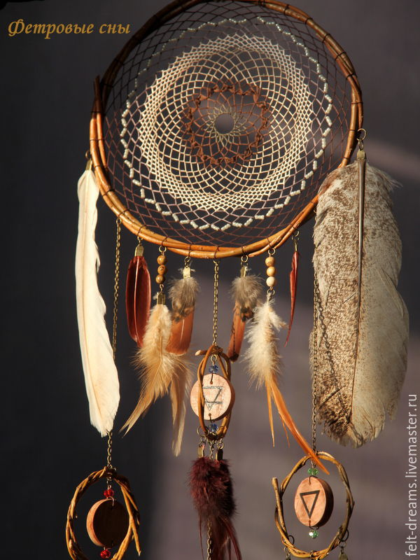Dreamcatcher 'the way of the Shaman', Dream catchers, Magnitogorsk,  Фото №1