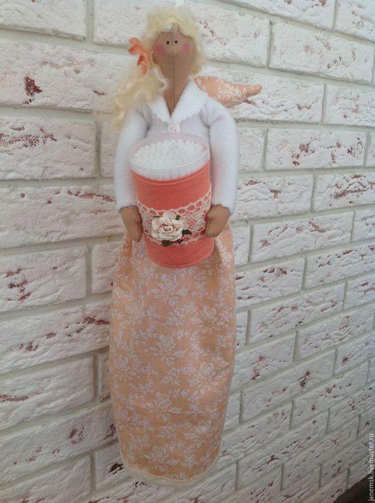 Куклы Тильды ручной работы. Ярмарка Мастеров - ручная работа. Купить Хранительницы ватных палочек и дисков. Handmade. Комбинированный, фея