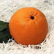 Мыло Апельсин, реальный размер