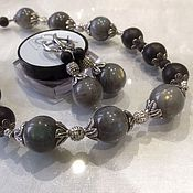 Украшения handmade. Livemaster - original item Set of labradorite