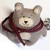 Мягкие игрушки ручной работы. Ярмарка Мастеров - ручная работа Добрый медведь Вениамин. Handmade.