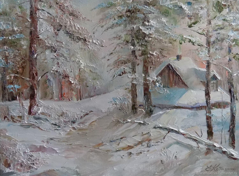 Домик в лесу, Картины, Иваново,  Фото №1