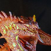 Для дома и интерьера ручной работы. Ярмарка Мастеров - ручная работа Дракон Огня Аркат. Handmade.