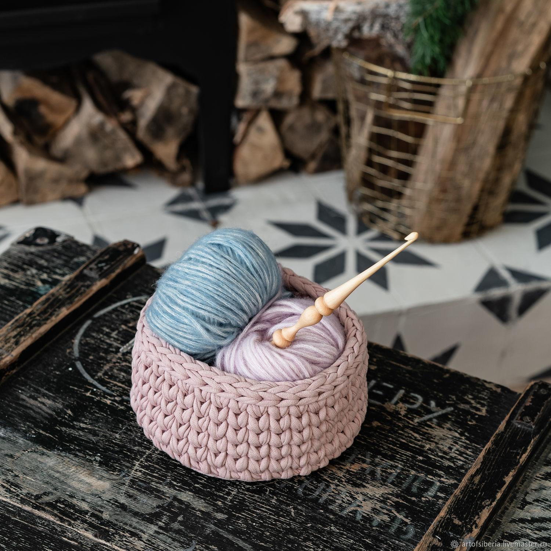 Crochet hook made of Siberian cedar wood 5mm. K183, Crochet Hooks, Novokuznetsk,  Фото №1