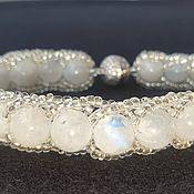 Сувениры и подарки handmade. Livemaster - original item The bracelet moonstone. Handmade.