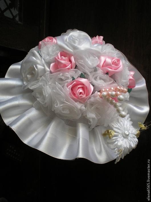 Свадебные цветы ручной работы. Ярмарка Мастеров - ручная работа. Купить букет- дублер свадебный. Handmade. Разноцветный, свадьба, невеста