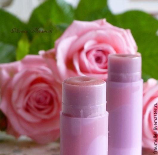 """Бальзам для губ ручной работы. Ярмарка Мастеров - ручная работа. Купить Бальзам для губ """"Моника"""". Handmade. Роза, натуральная косметика"""