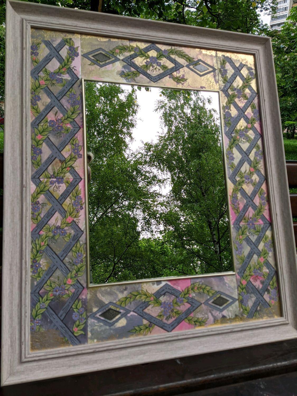 "Зеркало ""Окно в летний сад"", Зеркала, Москва,  Фото №1"
