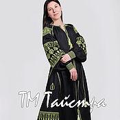 Одежда ручной работы. Ярмарка Мастеров - ручная работа Платье бохо вышитое, стиль  Вита Кин,Bohemian,этно. Handmade.