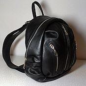 Сумки и аксессуары handmade. Livemaster - original item Backpack leather city 15. Handmade.
